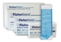 Fisherbrand™ Instant Sealing Sterilization Pouches, 5.25 x 10 in.