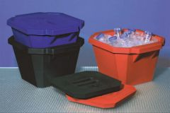 Fisherbrand™ Polyurethane Ice Bucket Black