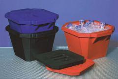 Fisherbrand™ Polyurethane Ice Bucket Red