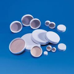 Fisherbrand White Polypropylene Caps with PTFE Liners