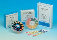 Whatman pH 0 to 14 Indicator Papers, CF Strips, 100/pk