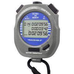 Traceable® 8-Memory Digital Stopwatch