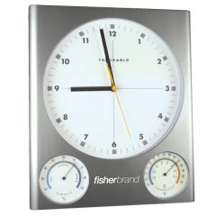 Traceable® Clock/Thermometer/Humdity
