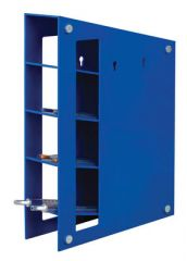 Fisherbrand Manual Magnetic Pipette Rack ABS Plastic, Blue