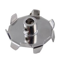 """Dispersion blade only with set screws 1.9"""" X 5/16"""" diameter bore"""