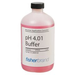 Fisherbrand™ accumet™ pH 4.01 Buffer Solution (Red), 480 mL