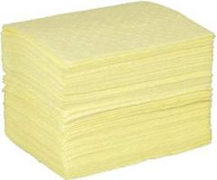 Fisherbrand Chemical Yellow Absorbent Pad - FB CHEM PADS,15X19,MDWT 100/PK
