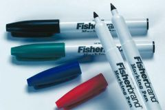 MARKING PEN BLUE FINE 10/PK (HAZARDOUS)