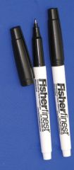 Fisherfinest Chemically Resistant Markers - FF MARKER BLK CHM RESIST 12/PK (HAZARDOUS)