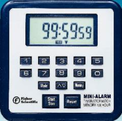 Fisher Scientific Traceable Mini-Alarm Timer Stopwatch - MINI-ALARM TIMER