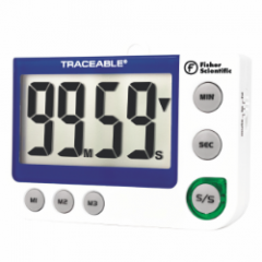 Fisher Scientific Traceable Flashing LED Alert Big-Digit Alarm Timer - TRACEABLE FLASHING LED TIMER