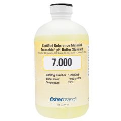 Traceable® pH Standard Certified Reference Material (CRM) 7.000, Yellow, each