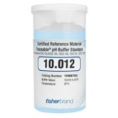 Traceable® pH One-Shot™ Standard Certified Reference Material (CRM) 10.012, Blue, (pack of 6)