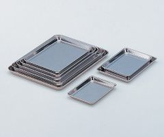 Stainless Steel (SUS430) Tray No.16 411x301x21mm