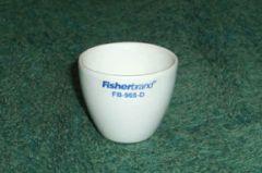 Fisherbrand High-Form Porcelain Crucibles