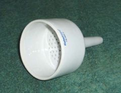 Fisherbrand™Porcelain Buchner Funnels with Fixed Perforated Plates
