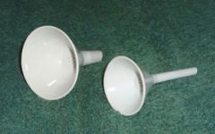 Fisherbrand Porcelain Hirsch-Type Funnels with Perforated Plates
