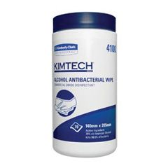 SCOTT Alcohol Antibacterial Wipe 14x20cm (12Canisters x 70s)