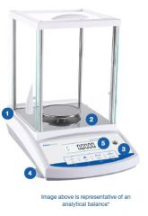 Fisherbrand™ Analytical Balance, 220g capacity with 0.1mg readability, InCal