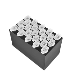 B23-1.5, Block with 23 sockets for 1.5 ml tubes, flat bottom