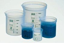 "Fisherbrand™ ""Square Ratio"" Polypropylene Beaker Set"
