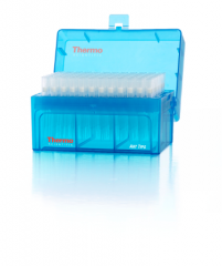 Thermo Scientific™ ART™ Barrier Pipette Tips in Hinged Racks, Sterile, Filtered, Low Retention, 20μL