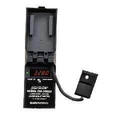 Radiometer, 365nm, measuring range of 0-19,990 microwatts/cm2. Complete with four nonrechargeable, 1.5 volt alkaline batteries and battery-level indicator light while supplies last