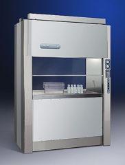 PuriCare Dual Access Laminar Flow Cabinet, one sash open, 230V, 50/60Hz