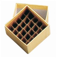 Arrowhead cardboard with 81-cell divider