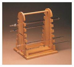 Bennett Wood Specialties Wooden Pipette Rack