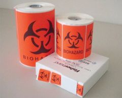 Fisherbrand™ Biohazard Labels