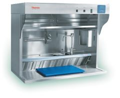Thermo Scientific™ Shandon™ Grosslab™ Junior Benchtop Pathology Workstations with Sink in Lower Shelf; Recirculating via Filters and Integral Blower; 110-120V, 60Hz