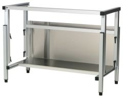 Thermo Scientific™ Shandon™ Accessories for Grosslab™ and Gross-Star™ Pathology Workbenches and Workstations, Stand with Extruded Aluminum Frame and Stainless-Steel Shelf