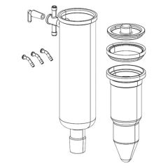 BUCHI Cold Trap Glass Assembly