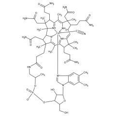 Cyanocobalamin (Crystalline (Dark Red)), Fisher BioReagents