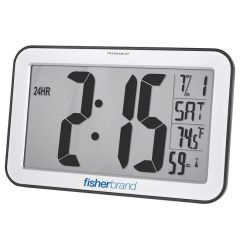 Fisherbrand™ Traceable™ Jumbo-Digit Radio-Controlled Wall Clock