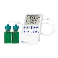 Fisherbrand™ Traceable™ Hi-Accuracy Refrigerator Thermometer, Two bottle probes