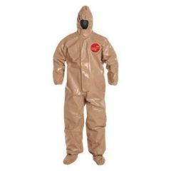 DuPont™ Tychem™ 5000 Coveralls with Respirator Fit Hoods, Berry Amendment Compliant