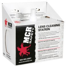 MCR Safety Lens Cleaning Station