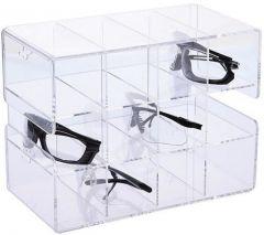 Fisherbrand™ Acrylic Safety Glasses Holder 12-Unit