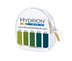Micro Essential Lab Hydrion™ Single Roll Dispenser, 4.8 to 6.7 pH