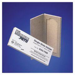 Fisherbrand™ 1-Place Cardboard Slide Holders, pk25, Cardboard