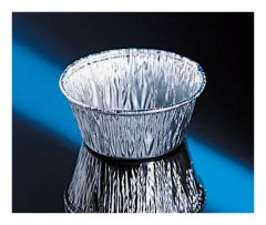 Fisherbrand™ Disposable Aluminum Dishes with Fluted Sides