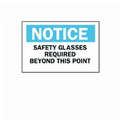 Brady™ Eye Protection Signs
