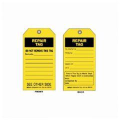 Brady™ Repair Tags