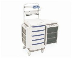 Metro™ Starsys™ Preconfigured Mobile Workstation, LAR Surgery Cart