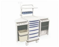 Metro™ Starsys™ Preconfigured Mobile Workstation, LAR Imaging - Trauma Cart