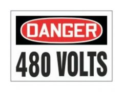 Accuform Signs Electrical Safety Labels