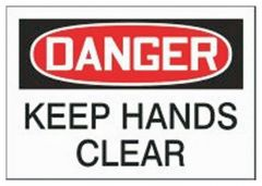 Accuform Signs Equipment Safety Label