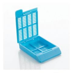 Cancer Diagnostics, Inc.™ Hinged Tissue Cassettes (Slat Holes) - Taped Bases and Lids